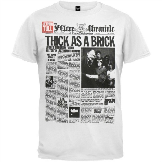 Jethro Tull Thick As A Brick T Shirt