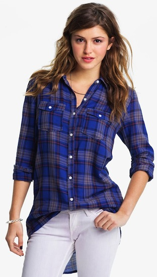 rubbish-plaid-shirt-tunic