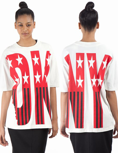 DKNY Exclusively for Opening Ceremony Spring '92 Stars and Stripes T-Shirt 1