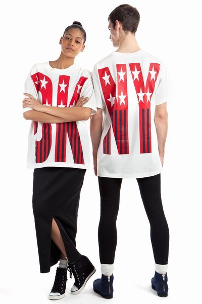 DKNY Exclusively for Opening Ceremony Spring '92 Stars and Stripes T-Shirt