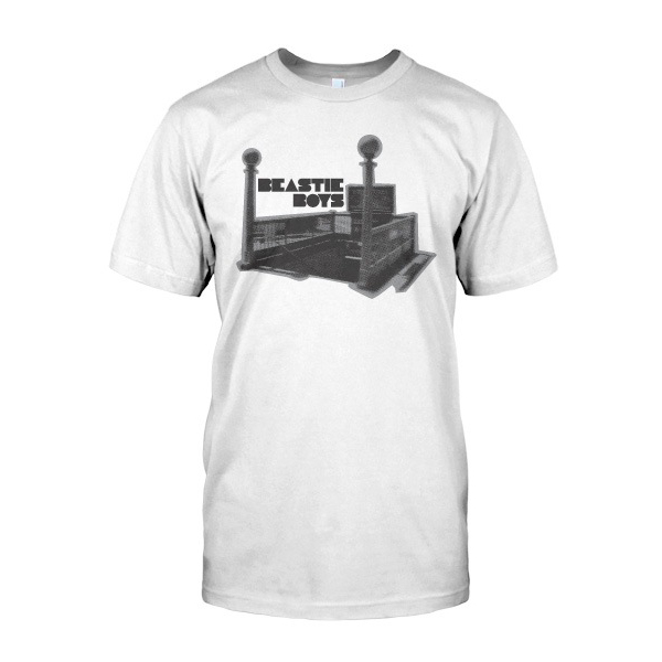 Beaste Boys Tee Unisex White Subway Entrance