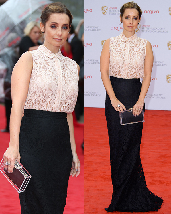 Louise Redknapp at The Arqiva British Academy Television Awards (BAFTA's) 2013 held at the Royal Festival Hall on May 12, 2013
