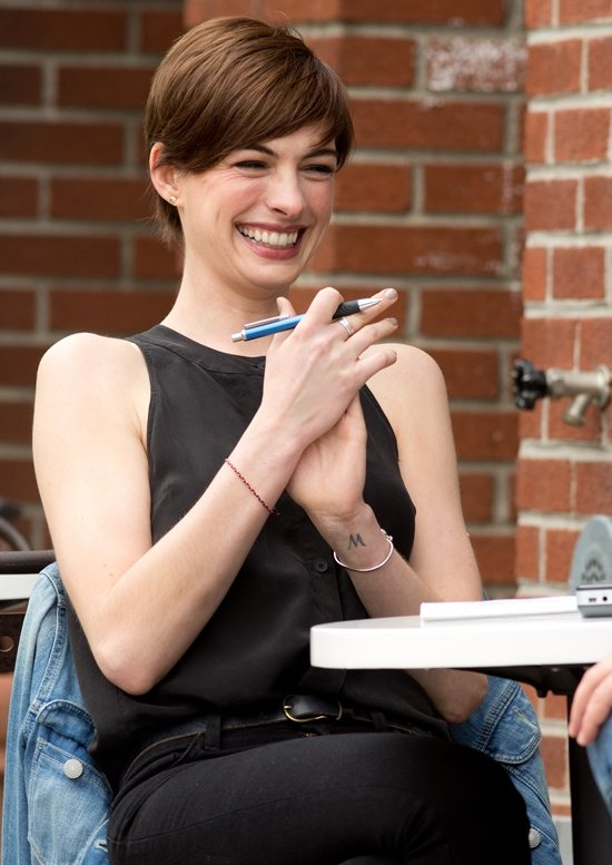 Anne Hathaway begins filming 'Song One'