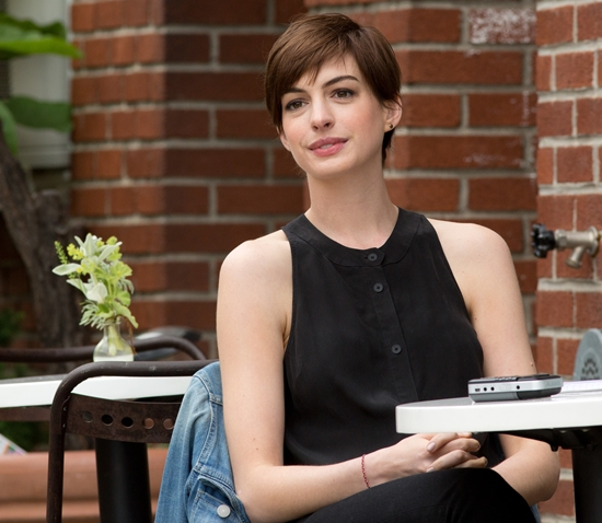 Anne Hathaway Movies: Anne Hathaway Begins Filming 'Song One' In Black Halter Top
