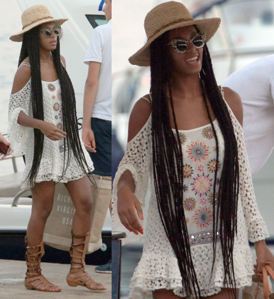 Singer-Solange- Knowles-arrives-in-Hvar-ahead-of- her-performance- on-the-For- Festival-2013