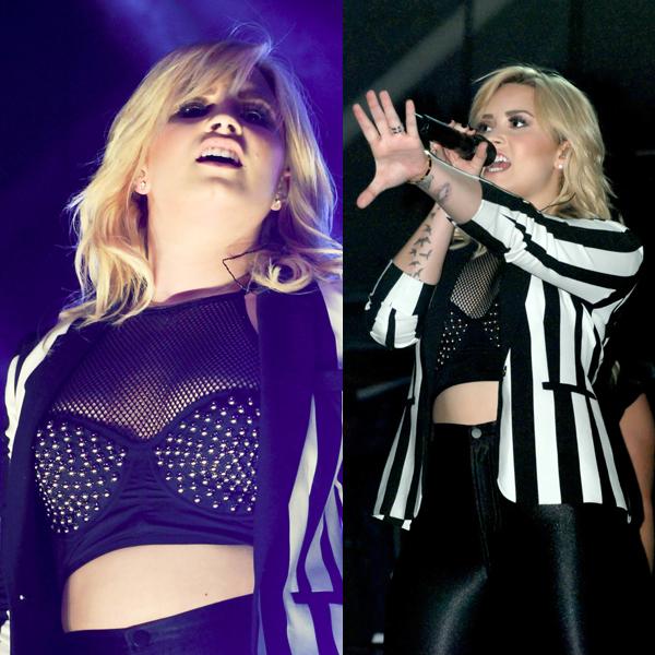 Demi Lovato Topshop Corset