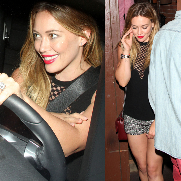 Hilary Duff ALC Harlow Top