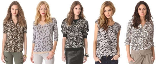Leopard Print Tops