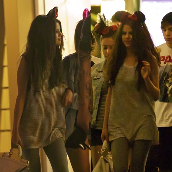 Selena Gomez in T by Alexander Wang
