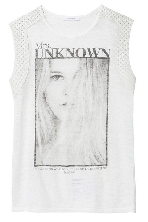 Zara Mrs. Unknown T-Shirt